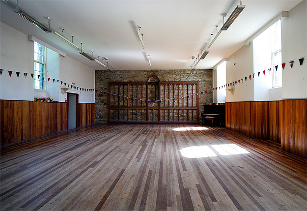 Dreel Halls: lower hall
