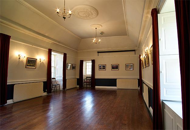 Dreel Halls: upper hall